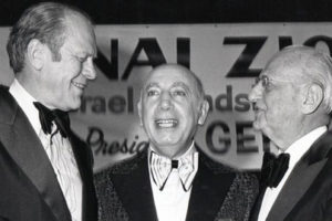 Bnai Zion Foundation honors President Gerald R. Ford
